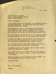 Correspondence - 1954, May 4 - Fay Webb Gardner by Fay Webb Gardner