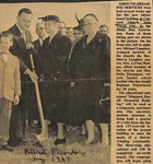 News Clipping - 1961, August - Ground Breaking Service (Biblical Recorder) by Biblical Recorder