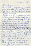 1955, October 12 - Mayme Feaster by Mayme Feaster