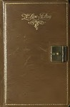 Diary, 1929-1931 (Brown Cover, Large) by Fay Webb Gardner