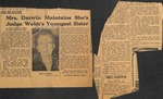 1948, March 5 - News Clipping by John Webb Cannon