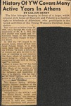 Undated - News Clipping - Edna Webb Darwin by Lillian Henry