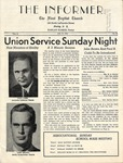 1953, July 17 - The Informer - First Baptist Church by Unknown