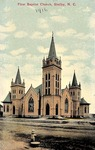 Photograph - 1916 - First Baptist Church by Unknown