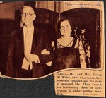 News clipping - George Milton Webb Jr by Unknown