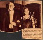 News clipping - George Milton Webb Jr