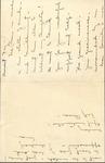 1949 - Correspondence - Una Webb Oates