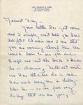 1950 - Correspondence - Julia Mae Webb by Julia Mae Webb