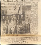 News Clipping - 1958 Hamrick Family