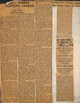 Newspapers - Newspaper Clippings Pg - Articles about J. L. Webb's Career and the 1887 Judges