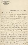 Correspondence - 1903, December 24 - Dr. J. F. Miller