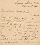 Correspondence - 1903, December 25 - Livey A. Chapman