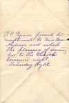 Correspondence - T. C. Pegram - Kansas Webb