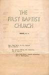 Documents - church bulletin - Kansas Love Andrews by First Baptist Church of Shelby