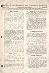 The Love Family Historical & Genealogical Quarterly (Vol. 3. No. 4)