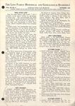 The Love Family Historical & Genealogical Quarterly (Vol. 3. No. 5)