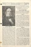 The Love Family Historical & Genealogical Quarterly (Vol. 5. No. 1)