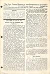 The Love Family Historical & Genealogical Quarterly (Vol. 5. No. 4)