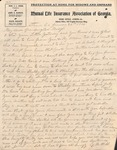 Correspondences - 1904, January 20 - George Milton Webb