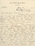 Correspondence - Undated - Kansas Webb by Kansas Andrews Webb