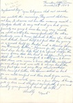 Correspondences - 1953, March 6 - M. Unknown by M. Unknown