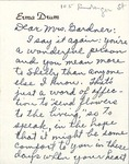 Correspondence - 1953, March 17 - Erma Drum