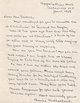 Correspondence - 1955, January 17 - Bessie Milholland by Bessie Milholland