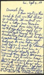 1953, September 4 - Correspondence from Lillian Alexander by Lillian Alexander
