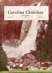 Carolina Churches Magazine, 1939 by H. I. Reaves and W. Arthur Offman