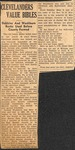 Drury Dobbins, Gabriel Washburn - Clevelanders Value Bibles (News Clipping) by Unknown