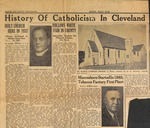 Saint Mary's Church - History of Catholicism in Cleveland - 1945, August (News Clipping) by Gregory Eichenlaub