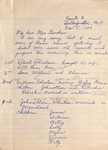 Correspondence - 1938, November 5 - Julius Robertson