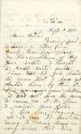 Correspondence - 1873, September 2 - Salola McClintock Andrews by Salola McClintock Andrews
