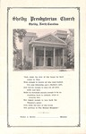 Worship Bulletin - 1951, February 25 - Shelby Presbyterian Church by Unknown