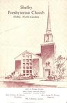 Worship Bulletin - 1954, May 2 - Shelby Presbyterian Church by Unknown