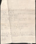 Genealogy Notes - Elizabeth Watson and Benjamin Andrews by Unknown