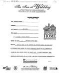Correspondence - 1997 - Keith E. Olson