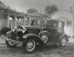 Webbley Rose Trellis and Vehicle by Unknown