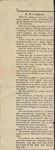 News Clipping - 1903 -Report of death of W. P. Andrews by Unknown