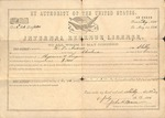 Physicians License - 1806, July