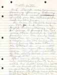 A.L. Stough - Handwritten Biography Notes