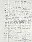 Correspondence -  August 21, 1963 - J. B. Davis