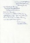 Correspondence w. Biography of Charles Augustus Jenkins -  February 13, 1964 - Charlotte Thurston Modlin