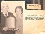 Magazine - Biblical Recorder - Feb. 15 1975 - Forrest Feezor