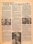 Magazine - Biblical Recorder - Nov. 24 1979 - Forrest Feezor by Charles Richardson