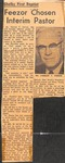 News Clipping - Forrest Feezor by Unknown