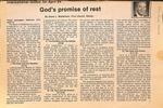 Magazine - Biblical Recorder- April 4, 1988 - Gene Watterson