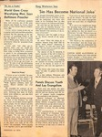 Magazine - Biblical Recorder- Feb 16, 1974 - Gene Watterson