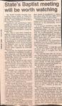 Newspaper - Shelby Star - Nov. 11,1991 - Gene Watterson