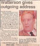 Newspaper - Shelby Star- Nov 12 1991 - Gene Watterson